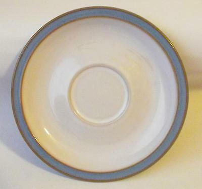 Denby Pottery Colonial Blue Pattern Replacement Saucer made in Stoneware