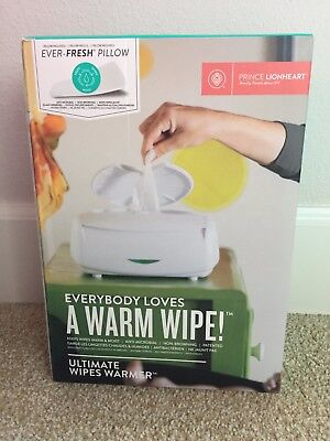 New Prince Lionheart Ultimate Wipes anti-microbial warmer. Free Shipping