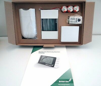 Electricity Monitor Meter British Gas Minim New in Box LCD Screen Readout