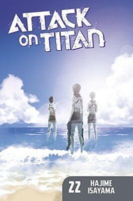 Attack On Titan 22 by Hajime Isayama (Paperback, 2017)