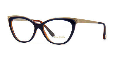 62b1b9ae34a4 Brand New 100% Guaranteed Authentic Tom Ford 5374 Tf5374 090 Navygold  Eyeglasses