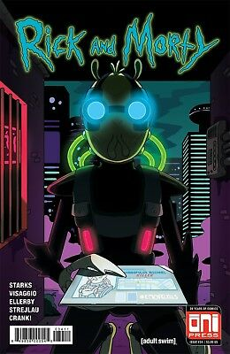 RICK AND MORTY #32 Reg and Variant   ONI PRESS EST REL DATE 11/29/2017