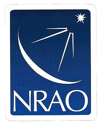 Nrao National Radio Astronomy Observatory Telescope Sticker