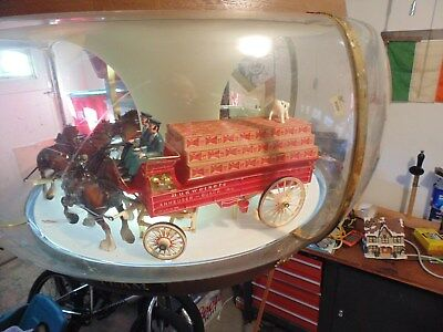 Vintage Budweiser Clydesdale Rotating Light