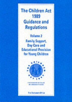 Children Act, 1989: Family Support, Day Care and ... by Dept.of Health Paperback