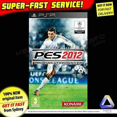 Pro Evolution Soccer 2012 Sony PSP ✓NEW ✓RARE ✓PAL ✓PES 12 football game console