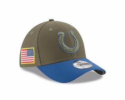 the best attitude d0b98 b4d07 ... best price indianapolis colts new era 2017 salute to service 39thirty  flex hat olive 636cd 21c10