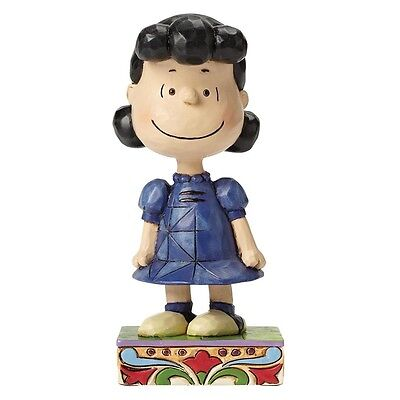 Jim Shore Peanuts - Little Miss Fussbudget, Lucy, NEU & OVP
