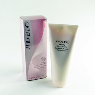 Shiseido Refining Body Exfoliator - Full Size 200mL / 7.4 Oz. New
