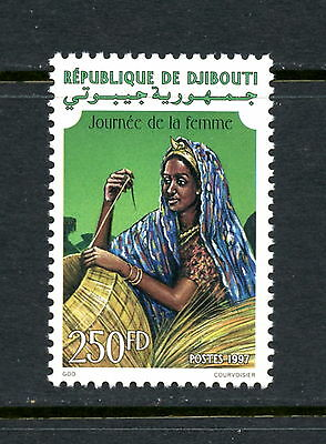 Djibouti  1997  #768  Woman's Day   1v.   MNH  H269