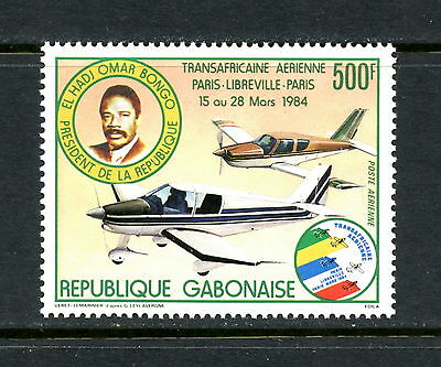 Gabon 1984  #C264  aviation  planes Air Race    1v.  MNH  H420