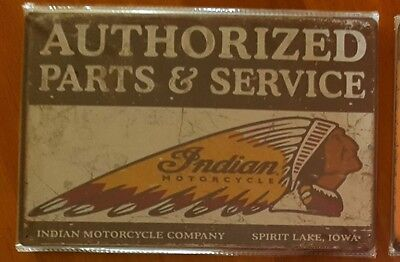 Indian Motorcycles tin sign. Mancave Signs Aussie Seller