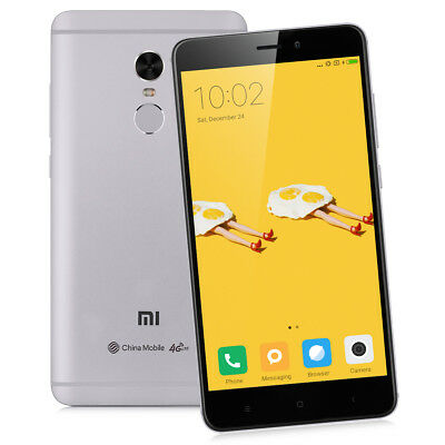 Global 3+64Go DecaCore 5.5'XIAOMI Redmi Note4 4G HelioX20 13MP 4100mA Smartphone