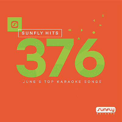 Sunfly Karaoke Hits SF376 June 2017 (CDG) Official Sunfly - Free UK Post