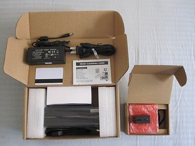 msr206 mag card reader writer encoder and minidx3 portable swipe data collector