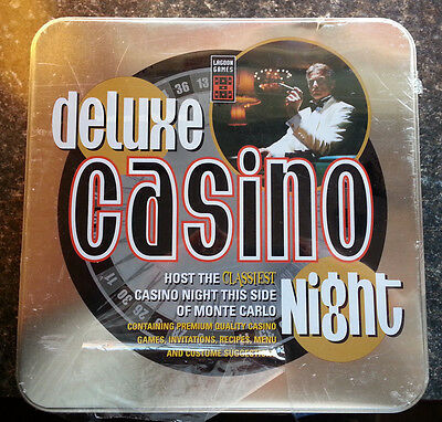 Deluxe Casino Night Vegas Entertinment Lagoon Games Complete NIP New Years Eve