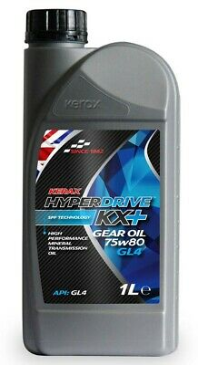 Brand  New Kerax  Hyperdrive  KX+  75w80  Super  Mineral  GL4  Engine Oil - 1 L