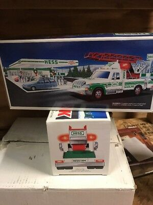 Lot Of 2 New Hess Toy Rescue Truck 1994 Collectible New Never Opened FREE SHIP