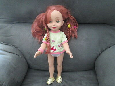 """2002 Playmates Interactive 15""""  Doll Emma - Doll only, no accessories"""