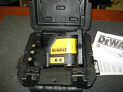 Dewalt Dw088Cg  Green Cross Line Laser ( New )
