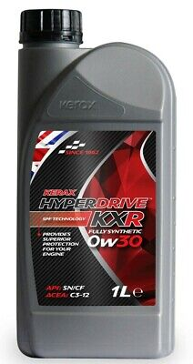 Brand  New  Kerax  Hyperdrive  KXR  0W30 SN/CF Fully Synthetix Engine Oil  - 1 L