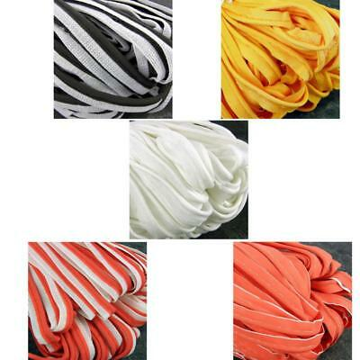 1.3.or 5 Metres 10mm Flanged Insertion Piping Flange Braid Trim Various Colours