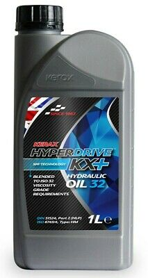 Brand  New  Kerax  Hyperdrive  KX+  Hydraulic Oil  32 - 1 L