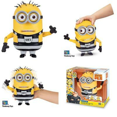 "7.25"" Talking Jail Time Tom Despicable Me 3 Minion Christmas Presents/Gifts Kids"