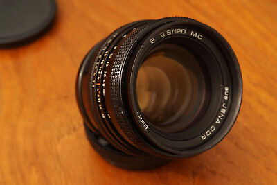 "Rare Carl Zeiss Jena Biometar Export version ""B"" 2.8 / 120 mm for Pentacon Six"