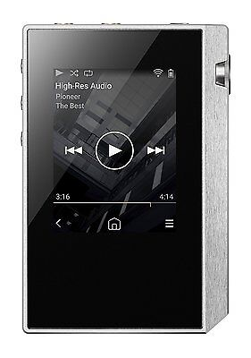 Pioneer 2017 Hi-Res Digital Audio Player private XDP-30R (S) Silver 16GB New