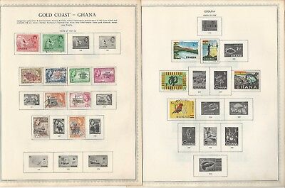 Ghana Collection 1957-1968 on 25 Scott International & Minkus Pages