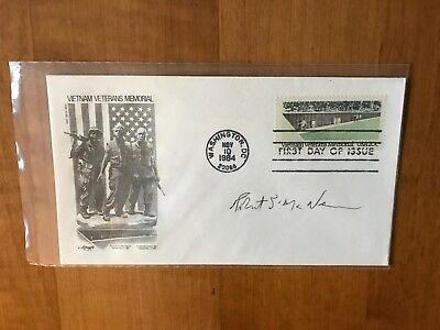 Autographed First Day Cover - Robert S. McNamara