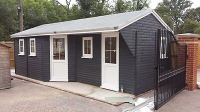 Luxury Garden Cabin xmas offer    Order now for 2018    only  £5000