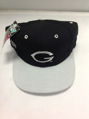 size 40 9f2a7 60977 Georgetown Hoyas fitted cap Size 7 1 8 made by Top of the World NEW