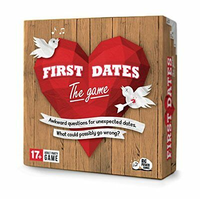 Official First Dates Game: Super-Awkward Adult Party Game Alert