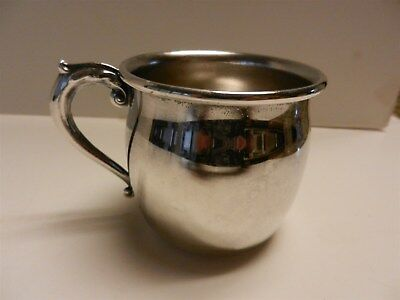 Vintage Silverplate Baby Cup