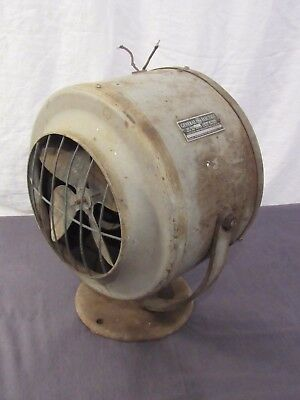 Vtg General Electric G 30 Fan / Air Heater Parts Repair Steampunk Prop