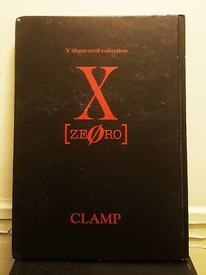 CLAMP X-ZERO Illustrated Collection /Japanese Illustration Art Book