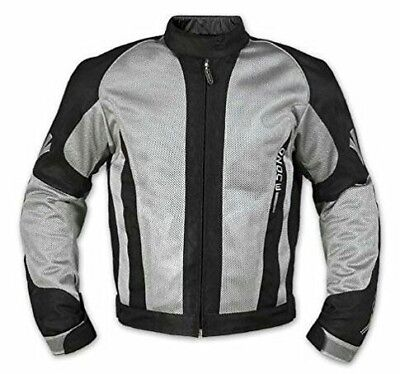 CE Armour Mesh Summer Tex Jacket Motorbike Motorcycle Pants Grey