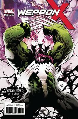 Weapon X #8 Venomized Weapon H Variant ( Totally Awesome Hulk 22 )