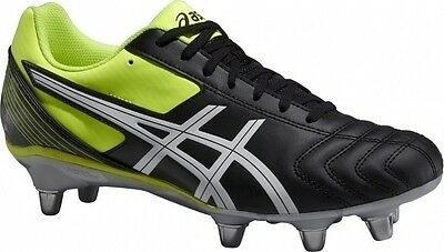 Asics Mens Lethal Tackle 8 Stud Rugby Boots (P507Y-9001) UK 9