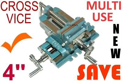 CROSS VICE 100mm Ideal for light milling or Multi use application = Proven model