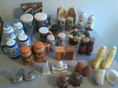 Vintage Lot : Variety Of Salt And Pepper Shakers