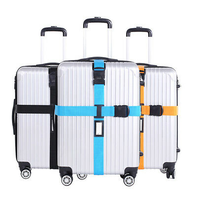 Luggage Suitcase Cross Strap/Baggage Storage Bag Belt Buckle Adjustable Strap K2