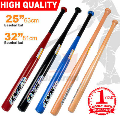 "25""63cm / 32""81cm Aluminium Baseball Bat Racket Defense Safety OZ"