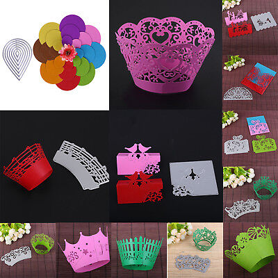Metal Cutting Dies Stencil Scrapbook Paper Cards Craft Embossing 3D DIY Die-Cut