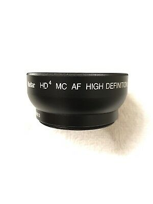 Vivitar HD4 MC AF High Definition 0.43x M58 Wide Angle Converter W/Macro Japan