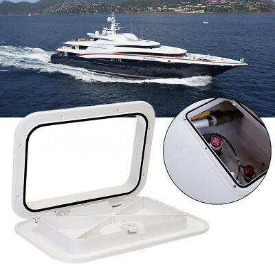 375x270mm Watertight Marine Boat RV Caravan Deck Compartment Access Hatch Plate