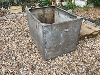 Galvanised Water Tank large