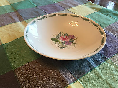 """Susie Cooper """"Fragrance"""" C485 18.5cm 7 3/8"""" bone china bowl green signed perfect"""